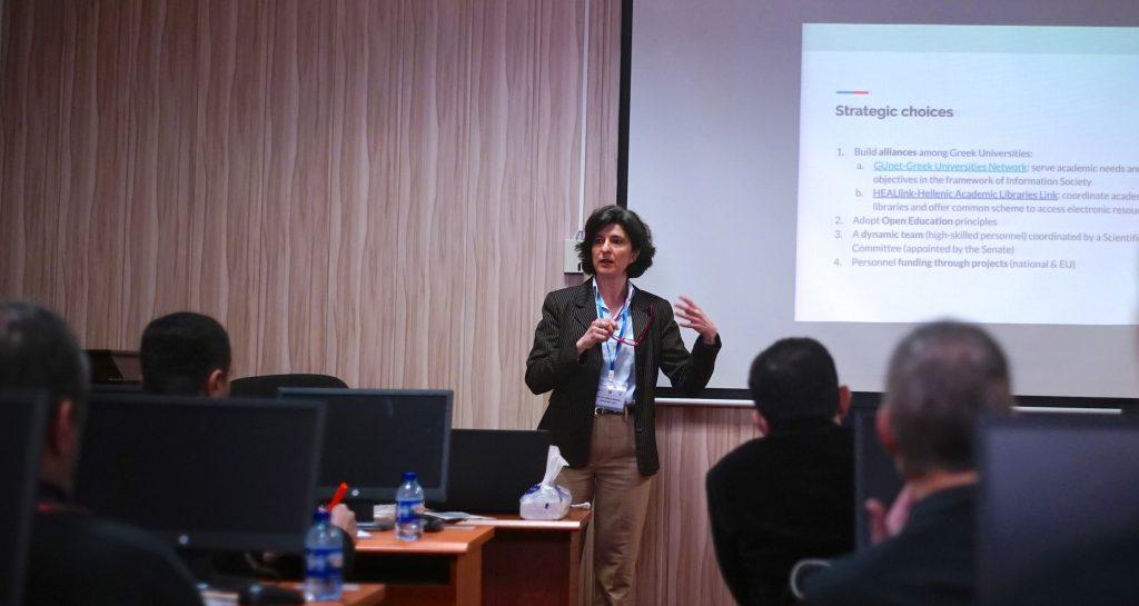 Κατά τη διάρκεια της παρουσίασής μου στο Salahaddin University