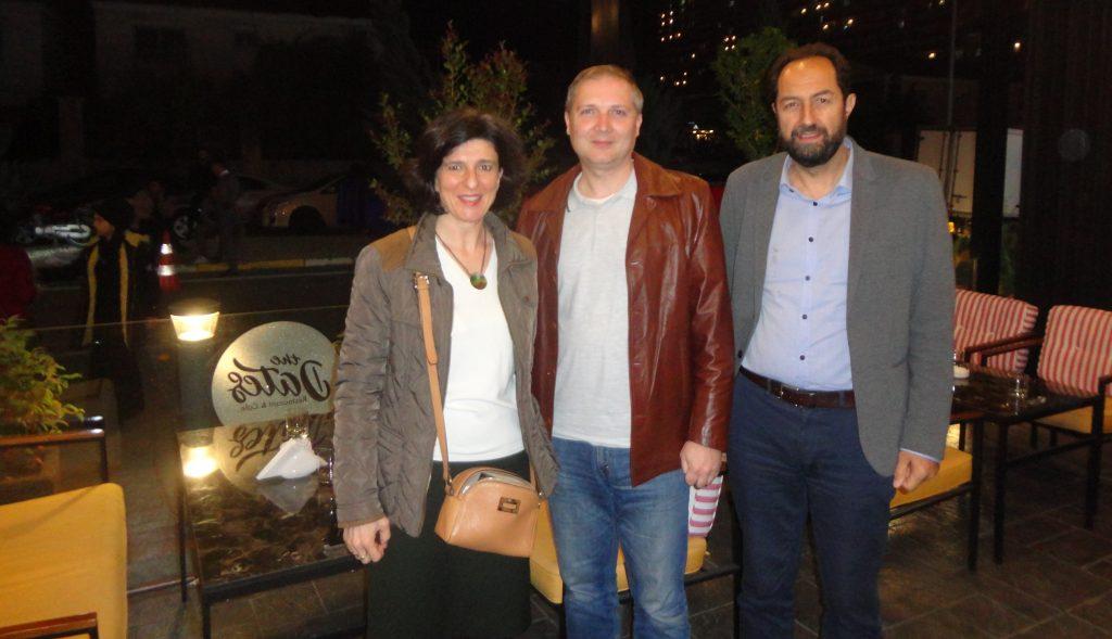 Με τον κ. Ευθύμιο Κωστόπουλο (κέντρο), Γενικό Πρόξενο της Ελλάδας στο Erbil